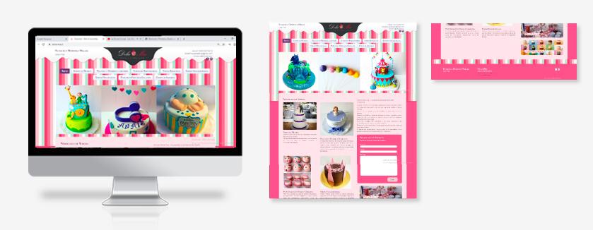 diseño de sitio web para dolcemia