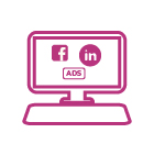 facebook y linkedin ads en paginas y sitios web